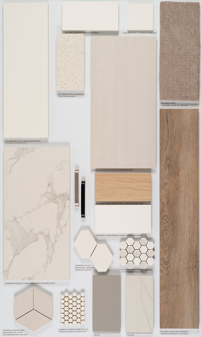 Condo selection palette #1
